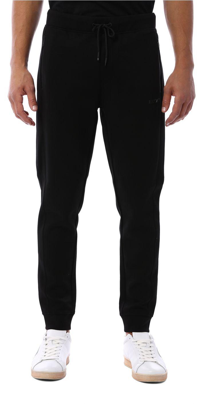 מכנסי טרנינג לוגו ברגל גברים