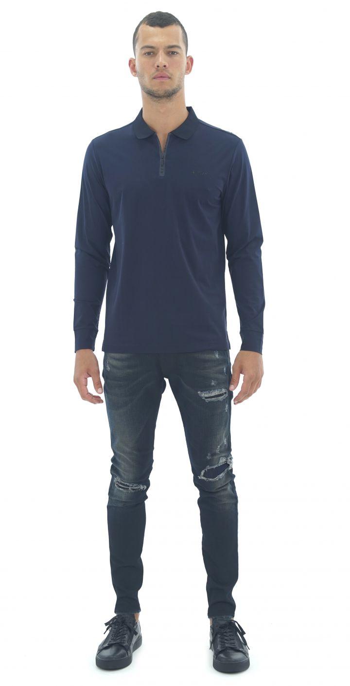 פולו מכנסי טרנינג מרצרייז לוגו קדמי גברים