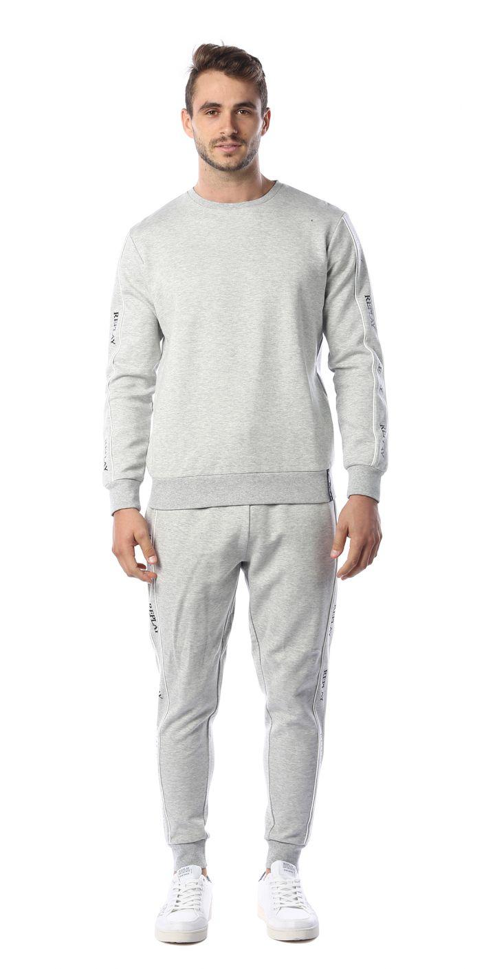 חליפת אופנה 2 חלקים לוגו גברים