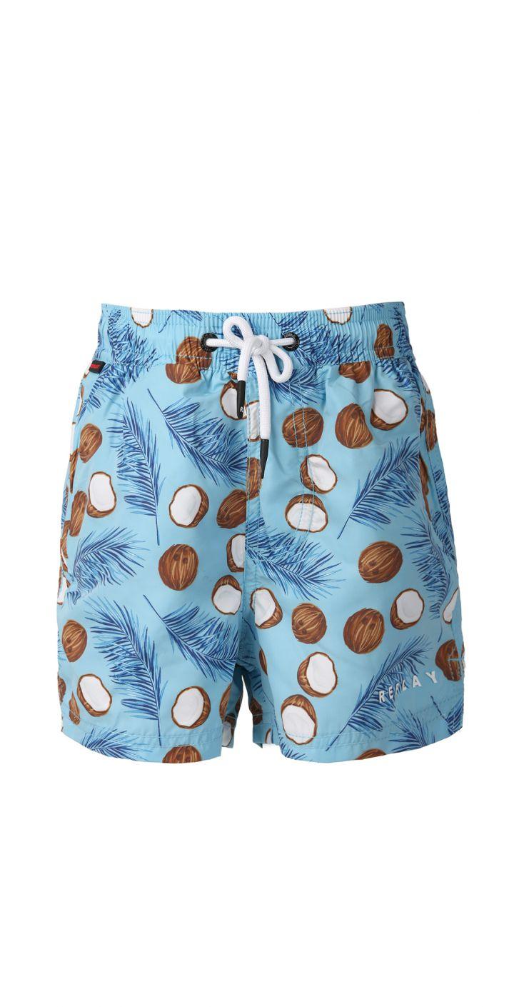 בגד ים מודפס קוקוס ילדים
