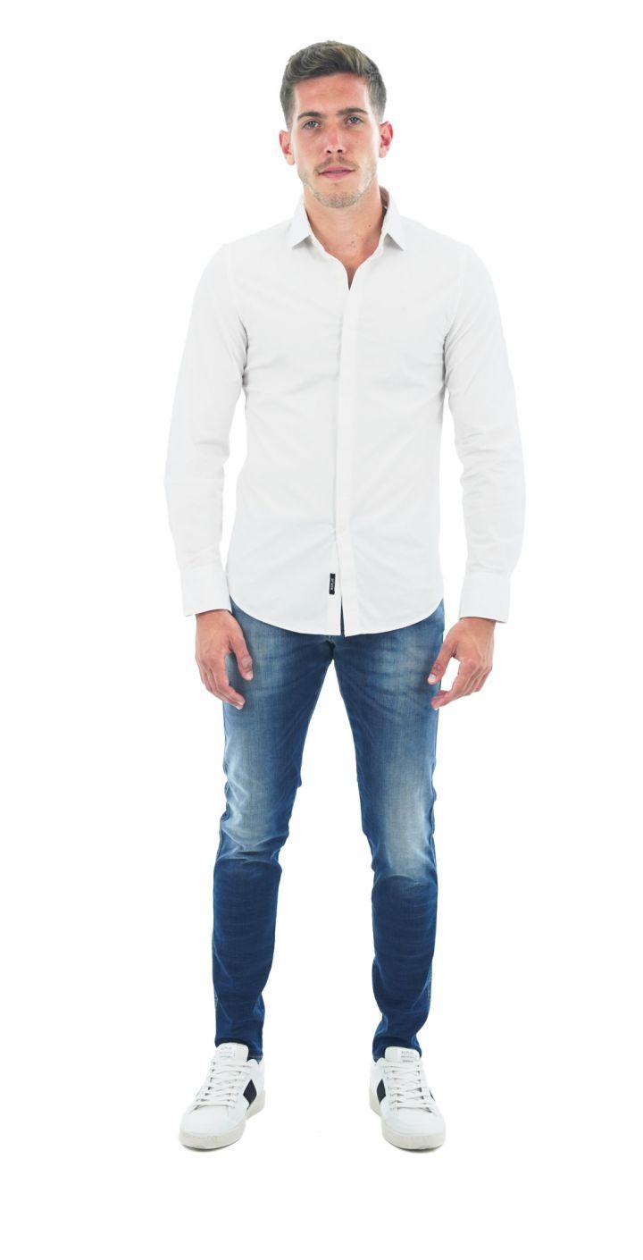 חולצה מכופתרת SLIMFIT גברים