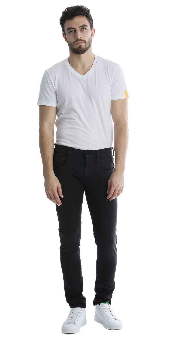 ג'ינס ANBASS HYPERFLEX SLIM  גברים