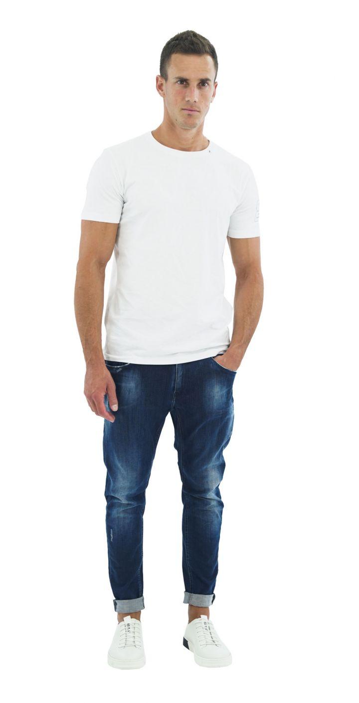 ג'ינס KOVIC SUPER SLIM משופשף גברים