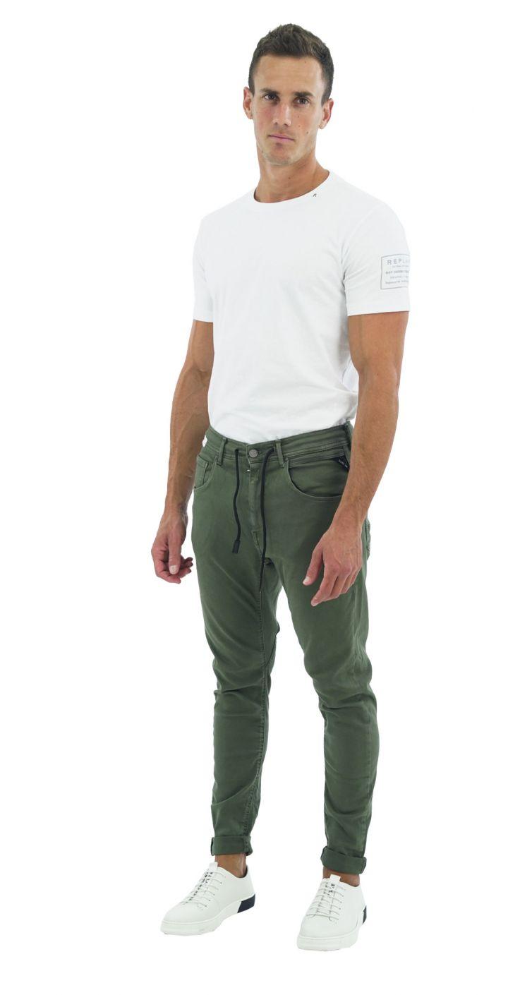 ג'ינס KOVIC SUPER SLIM חלק גברים