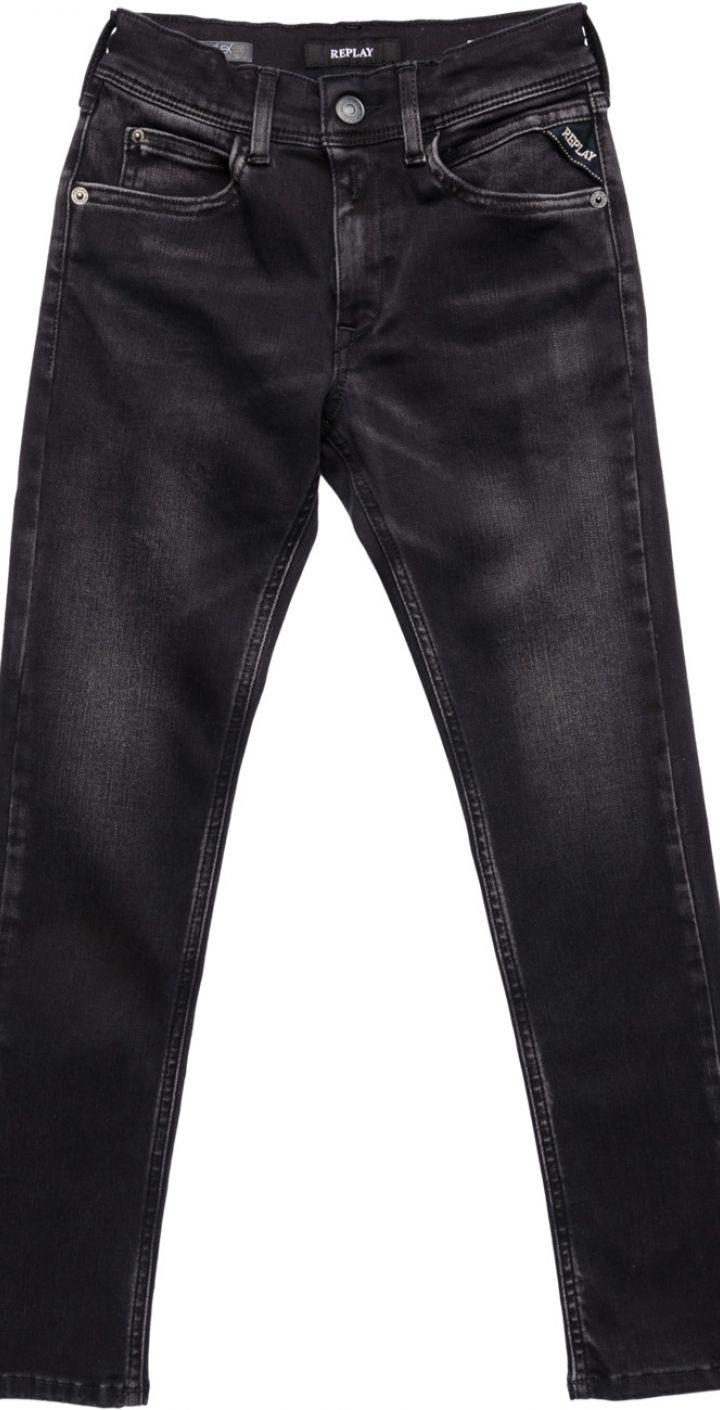 ג'ינס ילד בצבע שחור ילדים