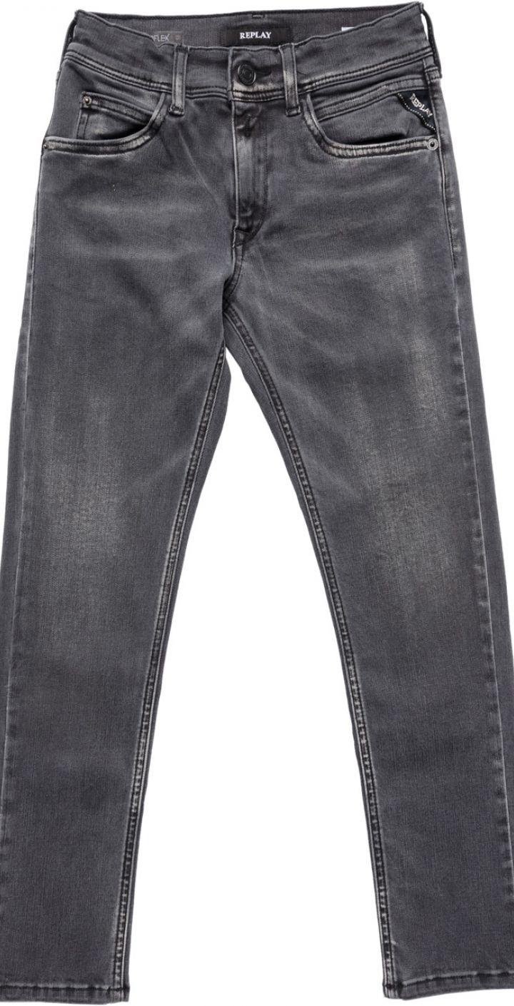 ג'ינס ילד בצבע אפור ילדים