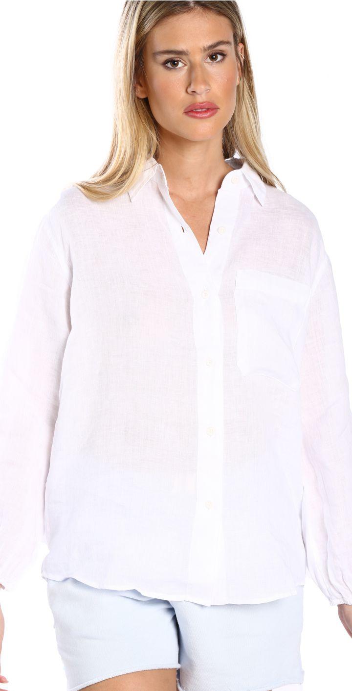 חולצה מכופתרת לוז נשים