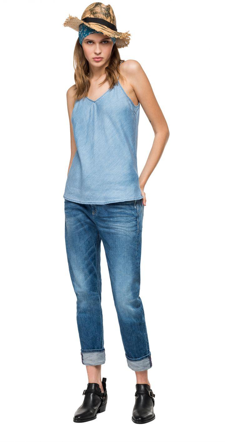 גופיית ג'ינס נשים