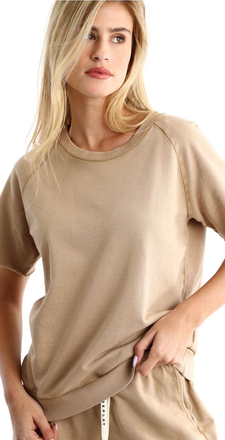 חולצה טי שירט קצר נשים