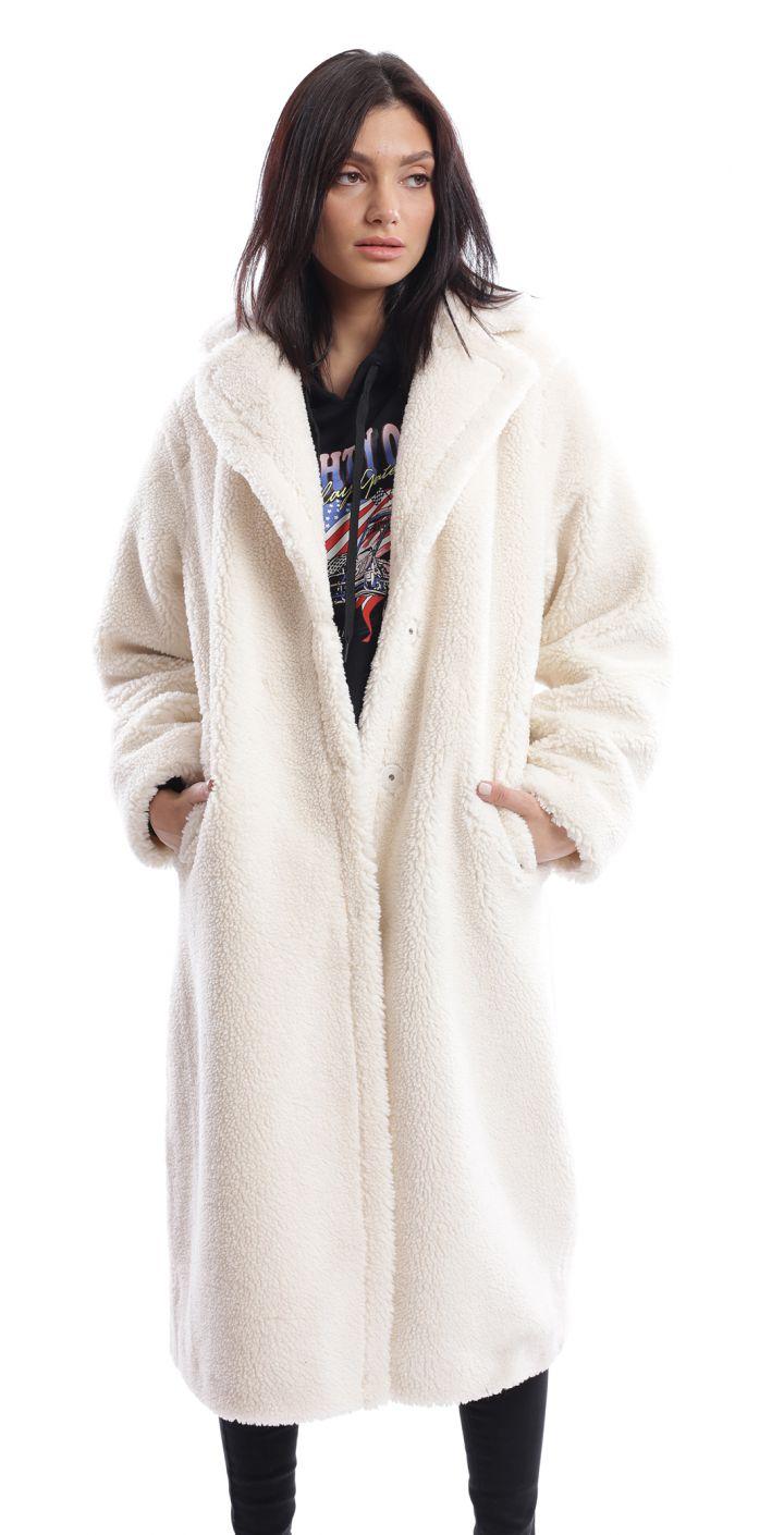 מעיל פרוותי ארוך נשים