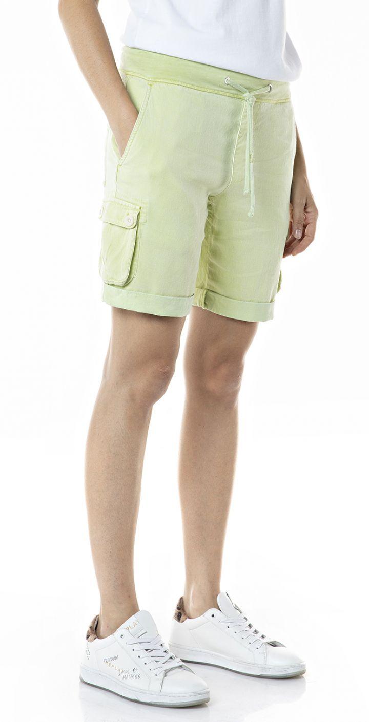 מכנסיים קצרים כיסים בצדדים נשים
