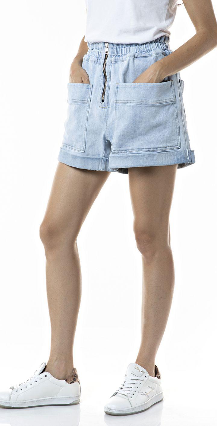 קצר עם כיסים נשים