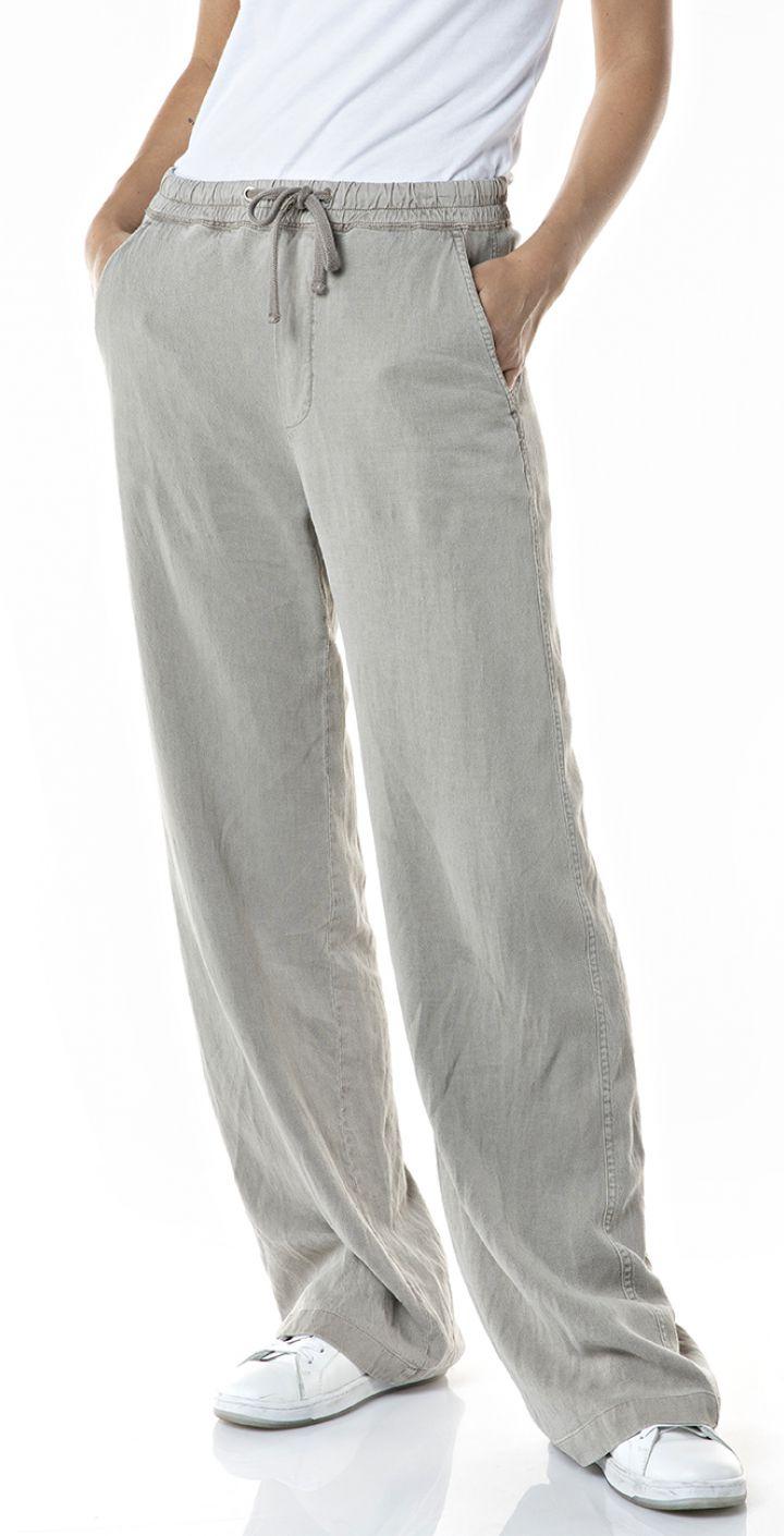 מכנסי טרנינג גזרה רחבה נשים