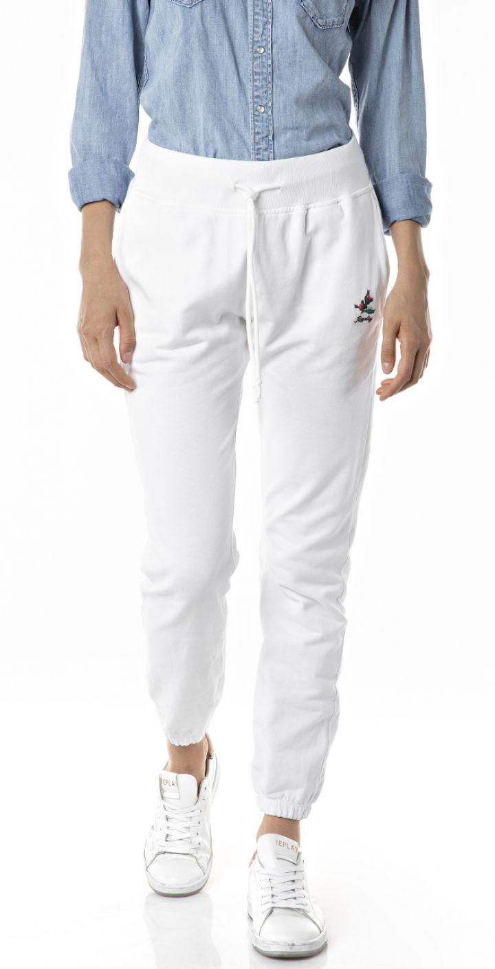 מכנסיים עם לוגו קטן נשים