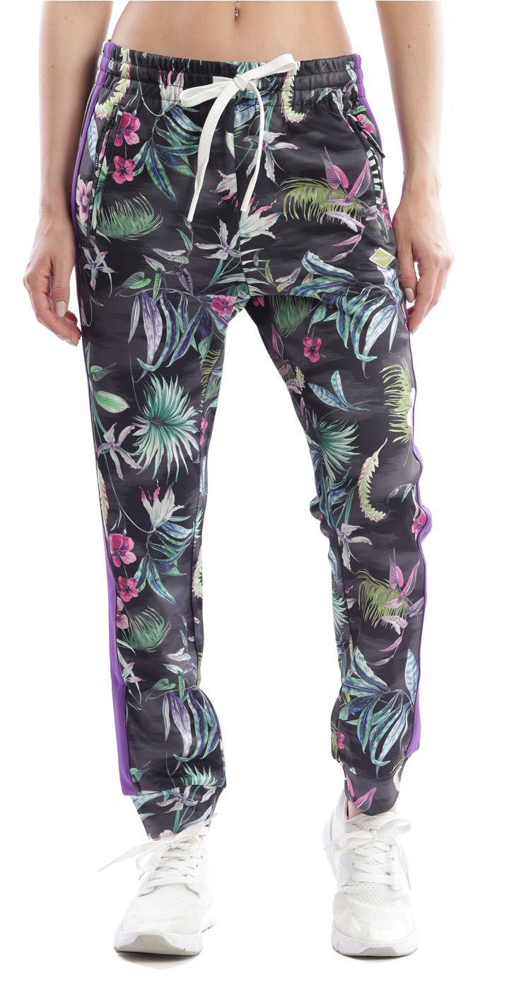 מכנסיים מודפס פרחים נשים