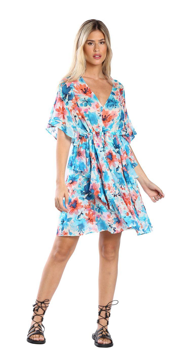 שמלה פרחונית נשים