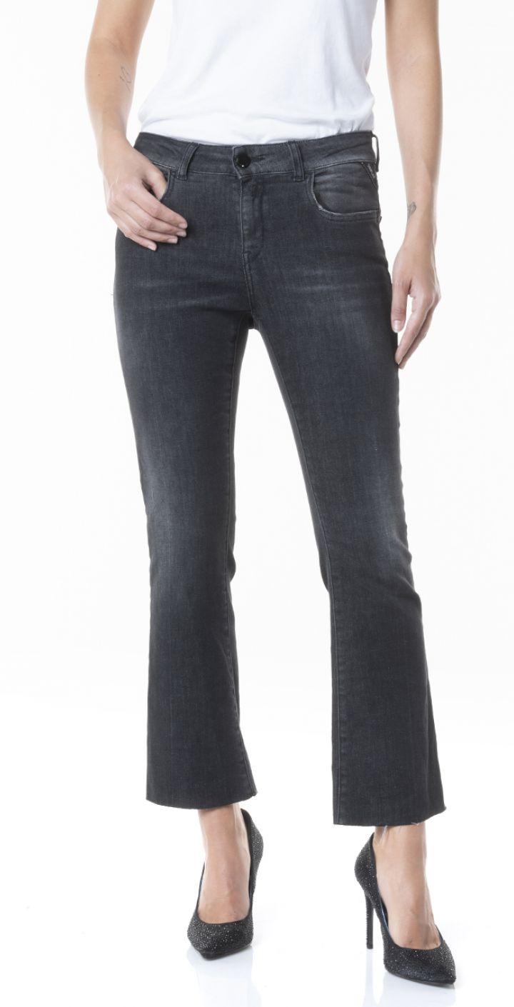 ג'ינס מתרחב עם שפשופים נשים