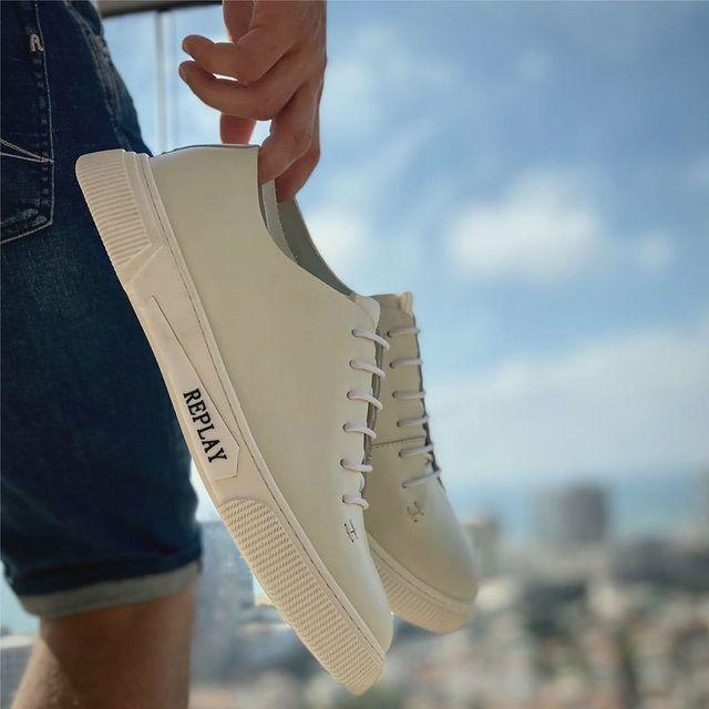Stepping into sunday with ROONEY sneakers for men👟 הסניקרס הכי מדוברות מחכות לכם עכשיו באתר ובחנויות. #replayisrael #replay_online #replayjeans #wearereplay �#replaynotordinarypeople #replaynewcollection� #trustyourinstinct ��#haveareplaysummer #replaysummer #summertime #summerclothes #menstyle #menshoes #mensneakers @replay