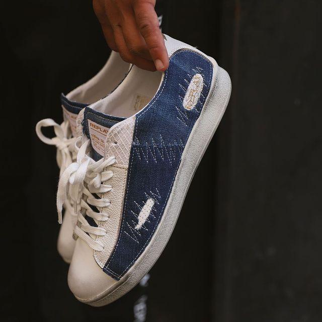 NEW COLLECTION - BLUESTRIKE sneakers for men 🏆 �הן פה! סניקרס בלוסטרייק לגבר עלו לאתר! המלאי מוגבל בהחלט! #replayisrael #replay_online #replayjeans #wearereplay #replaynotordinarypeople #holidaycollection #replaysale #ootd #ootdmen #musthave #minimalism #mensneakers #specialsneakers #limitededition @replay